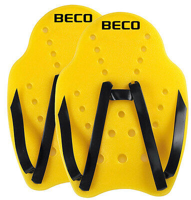 BECO Handpaddels Paar Wasser Paddel Aqua Training Paddel Equipment