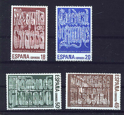 Spain Stamps - 1988 World Heritage Sites U.N.E.S.C.O. In MNH Condition