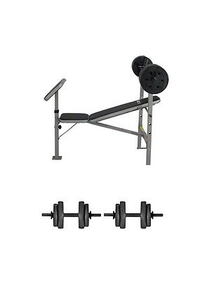 Pro fitness Multi Purpose Weight Bench - With 70kg Weights(brand new )