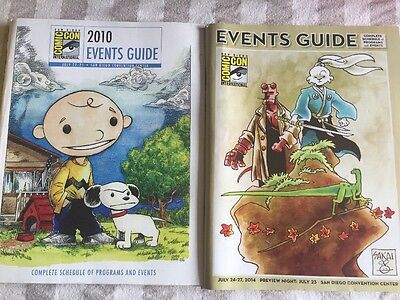 San Diego Comic Con Events Guides 2010 And 2014 Collectors