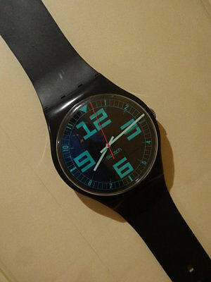Maxi Swatch - Commander - MGB115 - 1987 (U.S.A. Only) - USA