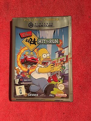 Hit and Run, The Simpson's  (Nintendo Gamecube)