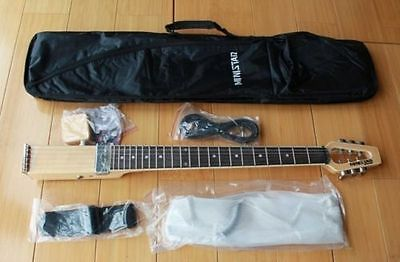 Minstar Brand Jazzstar Travel Electric Guitar With Carring Bag