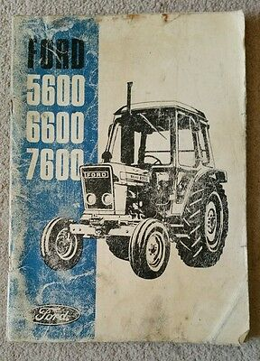 Ford 5600 6600 7600 Tractor Operators Manual (1)