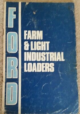 Ford Tractor 7520 7602 Loader Operators Manual