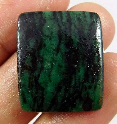 25 Cts. NATURAL STUNNING RUBY ZOISITE LOOSE CAB GEMSTONE (AQ223)