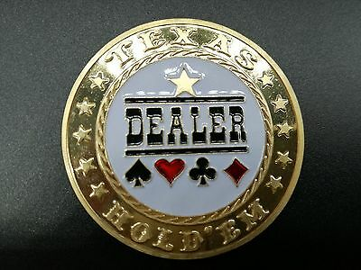 New Metal Dealer Button,Poker button,Texas hold'em button 1pc