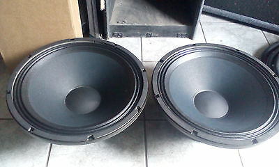 Eminence SIGMA PRO 18A-2 Drivers (PAIR) 1300W Subwoofers VGC, Bargain 2