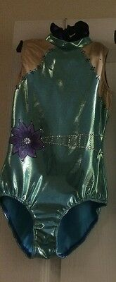 2 X Stunning Acro Leotards               Size 30 & 32 (custom made)
