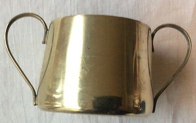 Sweet Antique Silver Plated, Sugar Bowl Guess Date Around 1900, Maker BSC.