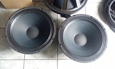 Eminence SIGMA PRO 18A-2 Drivers (PAIR) 1300W Subwoofers VGC, Bargain 2of4