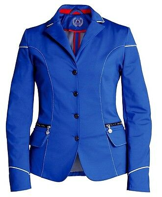 Fair Play Viki Ladies Softshell Competition Jacket In Cobalt Blue