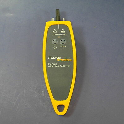 FLUKE NETWORKS VisiFault Visual Fiber Optic Fault Locator, Very Good Condition