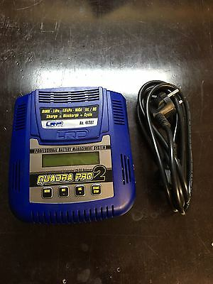 LRP Quadra Pro 2 41281 Charger Ladegerät Schnelllader Charger LiPo NiMH LiFe
