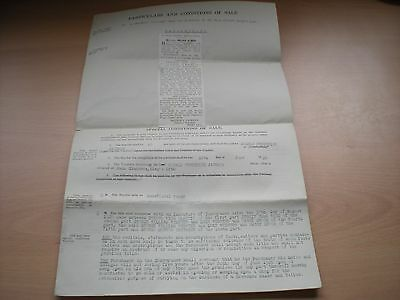 Particulars & Conditions Of Sale Of 88 High St, King's Lynn, Norfolk Dated 1926