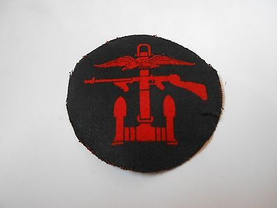 printed  combined operations circular cloth formation sign military unit patch