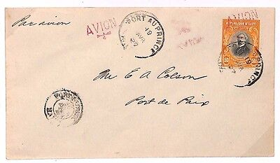 S300 1929 Haiti Port Au Prince Cover {samwells-covers}PTS