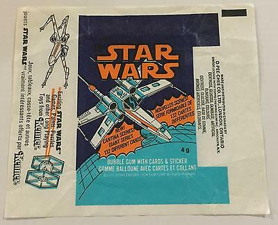 Star Wars Series 3 OPC Trading Card Wax Wrapper Vintage 1977 O-Pee-Chee