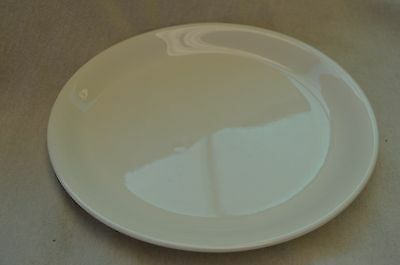 Vintage British Anchor Plate Ivory White Dinner Plate 23Cms Diameter Porcelain