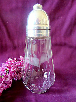 Vintage Christofle Silverplate Sugar Shaker Muffineer France Art Deco French