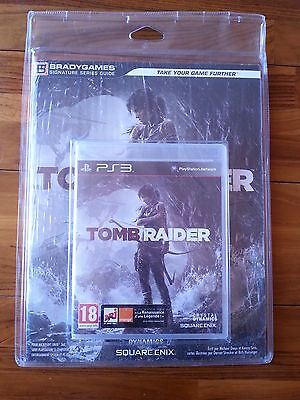 Jeu + Guide Tomb Raider PS3 Fr neuf sous blister rigide