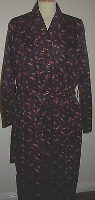 Gents Gatsby themed smoking jacket /dressing gown Vintage. M&S
