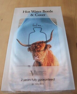 Vagabond Hot Water Bottle And Cover