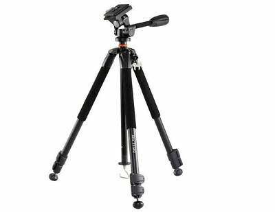 New Vanguard Aluminum Alloy Tripod With Pan Head Alta+ 223AO