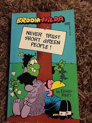 Never Trust Short Green People Russell Myers Broom Hilda Paperback 1984