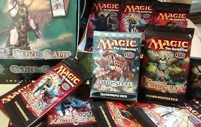 Magic the Gathering collection 27 New Sealed Decks, Boosters and Starter packs