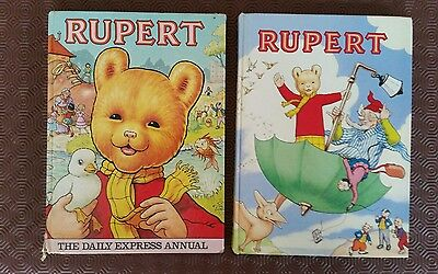 Rupert Annuals (2). 1988 and 1981