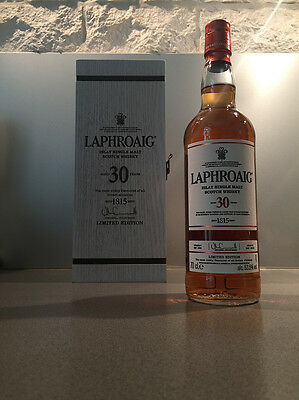 LAPHROAIG 30 ans Limited Edition 2016 - Rare Single Malt Whisky - Sold Out