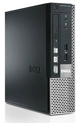 Dell OptiPlex 790 USFF Intel Core i3 3.10GHz 4GB RAM 250GB HDD Win 7
