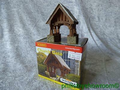 Oo Hornby R 8554 Church Gate Vgc Boxed Retired Discontinued