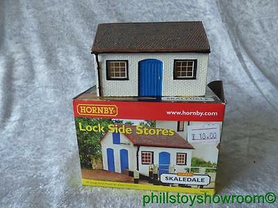 Oo Hornby Skaledale R8655 Lock Side Stores Vgc Boxed Retired Discontinued