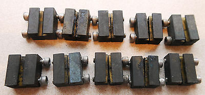 10 x G Gauge HILLMAN SPLIT JAW RAIL CLAMP  FITS LGB PIKO ARISTOCRAFT