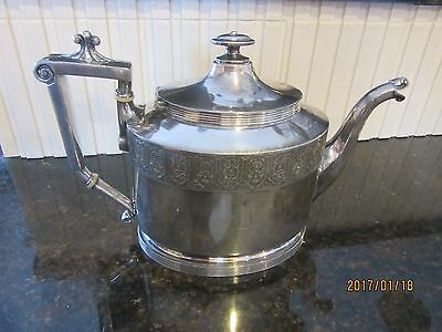 Antique By Mfd Silver Plated Reed Barton Silver Plated Teapot Coffee Pot 2840