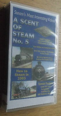 The Scent of Steam No 5 (Robert Newland) VHS Video UK Preserved & mainline steam