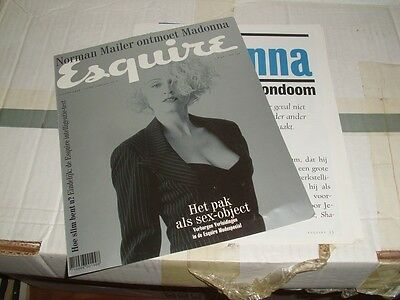 Madonna - Esquire  - Netherland 1994 - Magazine Cover + Articles