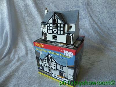 Oo Hornby Skaledale R8620 Small Pub Golden Fleece Vgc Boxed Retired Discontinued