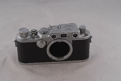 Leica IIIC World War II Time Screw Mount Camera Body CLA'd in Ext Condition