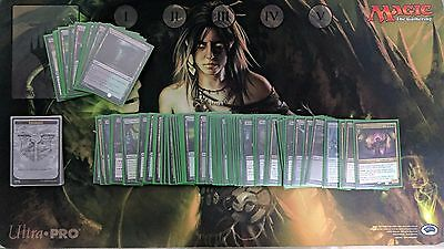 Commander EDH 2015 Deck: Plunder the Graves, Sleeved, Dice, Spin Down & Play Mat