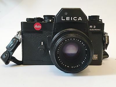 Leica R3 Electronic + Summicron-r 1:2 / 50mm | PERFECT