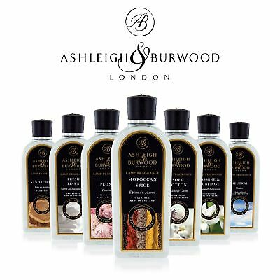 Ashleigh & Burwood Premium Fragrance Lamp Oil Burner Refill Bottle 1000ml Gift