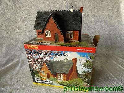 Oo Hornby Skaledale R8503 St Michaels School Vgc Boxed Retired Discontinued