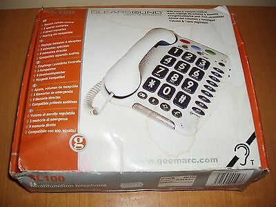 Geemarc , Big Button ,Clearsound multifunction telephone Model CL100