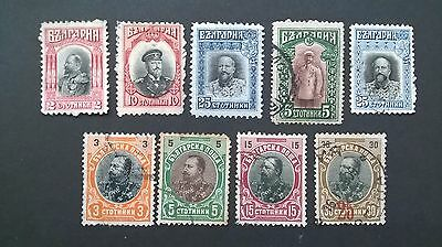 Bulgarian stamps-  period 1910-1917