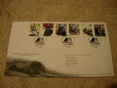 Royal Mail First Day Cover - Jane Eyre - Charlotte Bronte