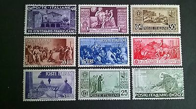 1930`s Italy selection - non postage used stamps