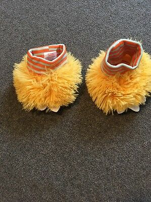 Baby Slippers, 0-9 months, EUC